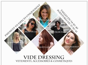 Vide-Dressing le 13 juin 2015 au Bliss