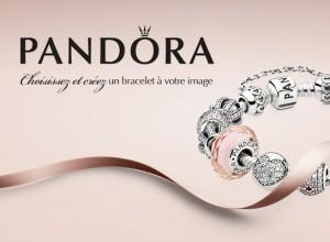 2 compositions Pandora d'une valeur de 1250 e à gagner